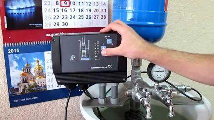 Частотный преобразователь в системе водоснабжения
