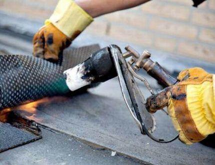 Регулировка силы пламени в ГВ горелке