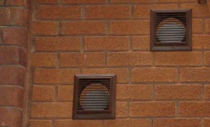 Продухи системы вентиляции