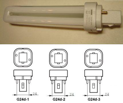 """Лампы с цоколем """"G24d-*"""""""