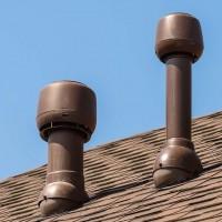 Вентиляционные трубы на крыше дома: обустройство выхода вытяжного трубопровода через крышу