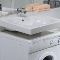 Раковина над стиральной машиной: особенности проектирования + монтажные нюансы