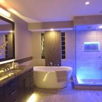 Подсветка в ванной комнате: обустройство светодиодной подсветки своими руками