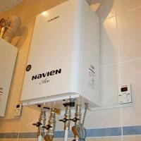 Настройка газового котла Navien, инструктаж по монтажу, особенности схемы подключения