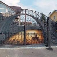 Установка распашных ворот: нюансы выбора + советы по установке ворот и настройке автоматики