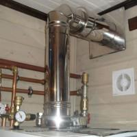 Дымоходы для газовых котлов: устройство, правила подключения и типовые размеры