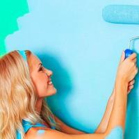 Как правильно покрасить обои своими руками – пошаговая инструкция