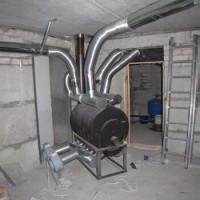 Как устроить воздушное отопление загородного дома: правила и схемы сооружения