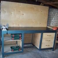 Верстак своими руками в гараж: руководство по сборке в домашних условиях