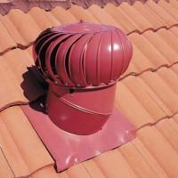 Как устроен вентиляционный дефлектор, разновидности устройства + правила монтажа
