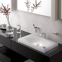 Накладная раковина на столешницу в ванную комнату: как выбрать + руководство по монтажу