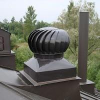 Турбодефлектор для вентиляции: принцип работы и сравнение видов ротационных дефлекторов