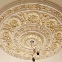 Потолочная розетка под люстру: инструкция по установке розетки на потолок