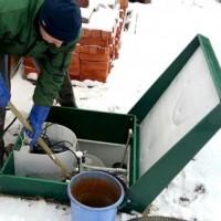 Правила обслуживания септика зимой: мероприятия по чистке и профилактические работы