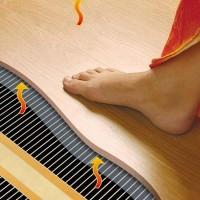 Теплый пол под ламинат на деревянный пол: какая система лучше + инструкция по монтажу