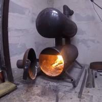Печь для гаража своими руками: лучшие примеры изготовления самоделок