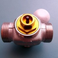 Трехходовой клапан на системе отопления: работа, правила выбора, схема и монтаж