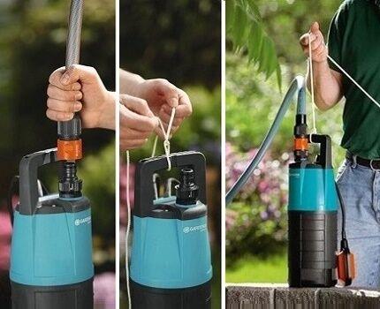 Какой насос лучше выбрать для забора воды из глубокого колодца