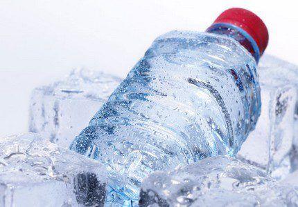 Охлаждение взятого образца воды