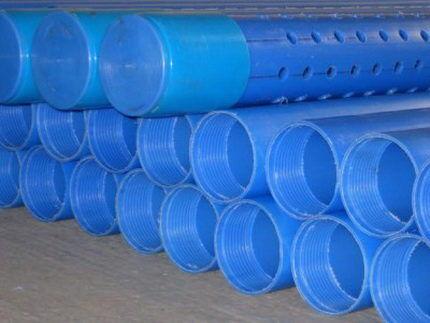 Скважинный фильтр из пластиковой трубы