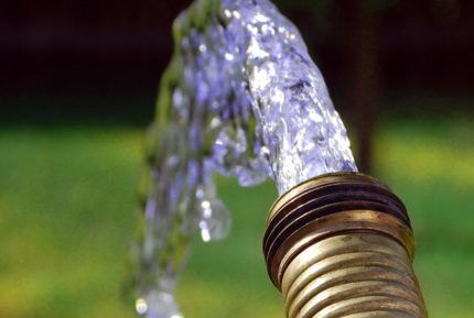 Чистая вода из скважины - результат правильной промывки