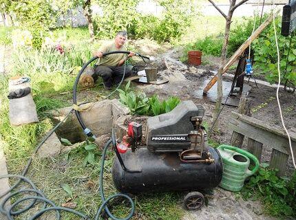 Как промыть скважину после бурения эрлифтом