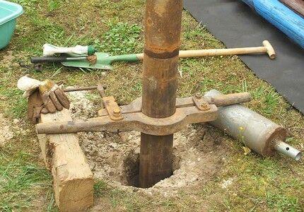 Как правильно провести бурение скважины на воду вручную