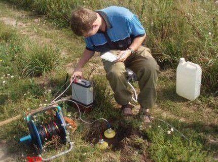 Метод электрического зондирования