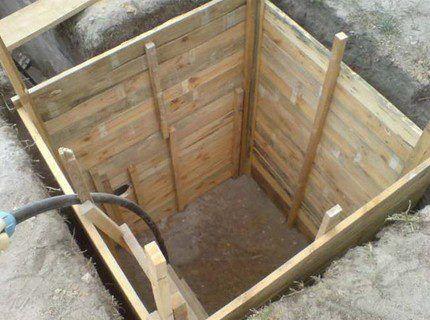 Проемы в стене для подведения водопровода