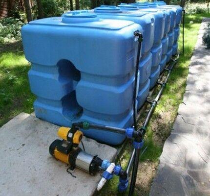 Налаживание полива с автоматическим насосом