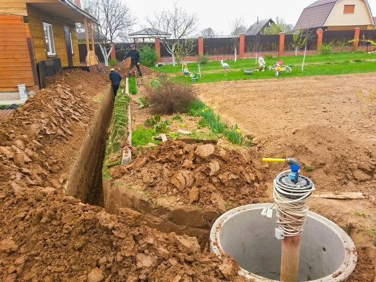 Водопровод на даче своими руками — инструкция к применению