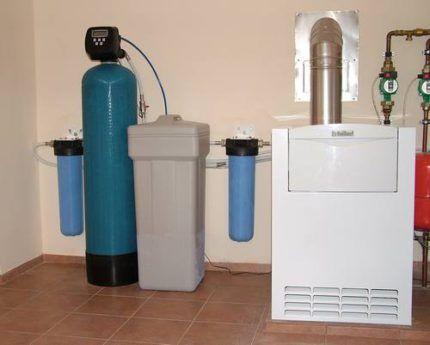 Система очистки воды в коттедже