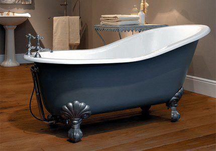 Тяжеловесная ванна из чугуна