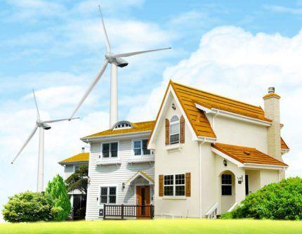 Альтернативная энергия для дома от ветрогенераторов