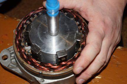Переоборудование автомобильного генератора
