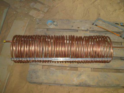 Змеевик для испарителя и конденсатора