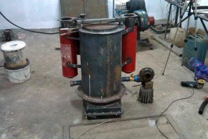 Самодельный газогенератор