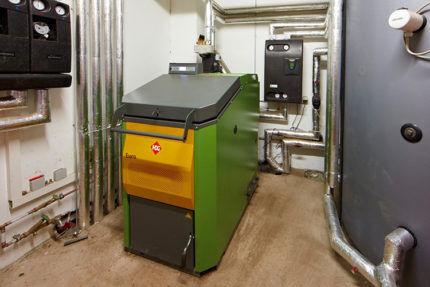 Промышленная модель газогенератора