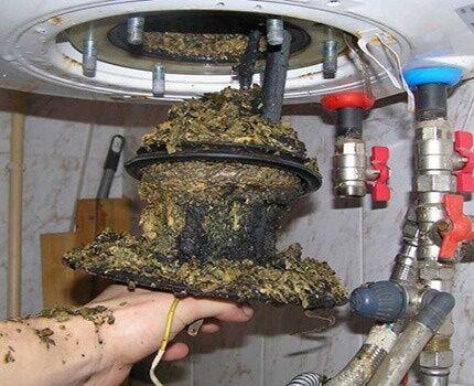 Последствия редкого слива воды из водонагревателя