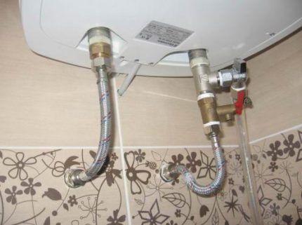 Нужен ли слив воды из водонагревателя