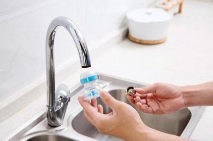Аэратор для экономии расхода воды