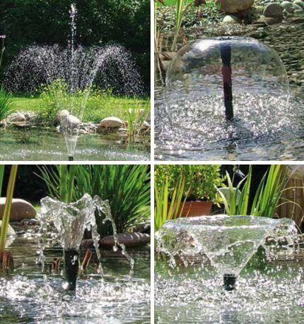 Насадки насосов для фонтанов и водопадов