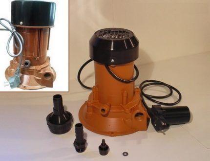 Водяной насос Агидель для вертикальной установки