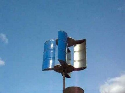 Ветрогенератор роторного типа