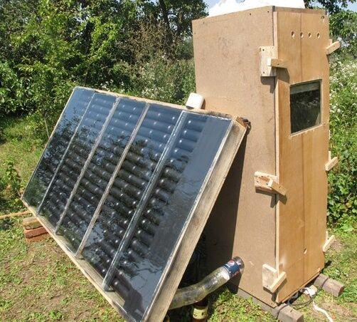 Система солнечного отопления частного дома своими руками