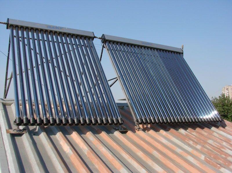 Отопление частного дома с помощью солнечных батарей
