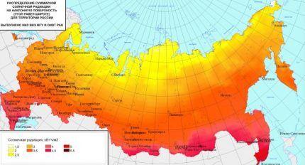 Где лучше использовать солнечные батареи в системе отопления