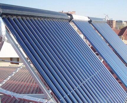 Солнечный коллектор для системы отопления частного дома