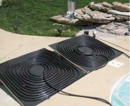 Система солнечного отопления сделана своими руками