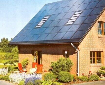 На какой стороне установить приборы солнечной системы отопления